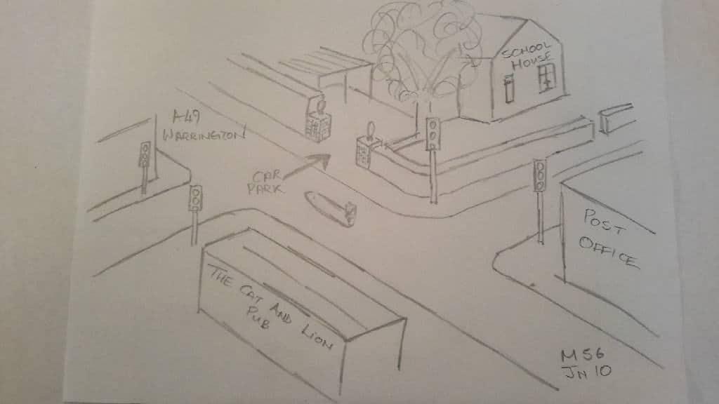 Car Park Entrance sketch (1)